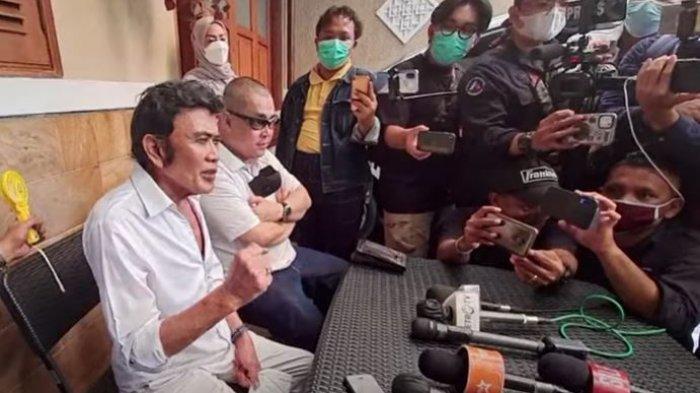 Rhoma Irama mengaku syok putranya menggunakan barang narkotika lagi