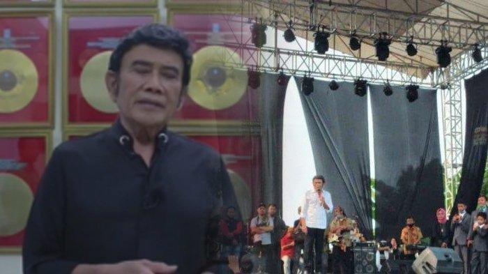 Sebelum manggung di Pamijahan, Kabupaten Bogor, Rhoma Irama sempat membuat pernyataan rencana penundaan pentas.