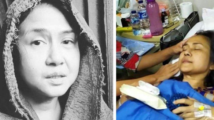 Ria Irawan dikabarkan kembali terkulai lemas karena kankernya sudah menyebar.