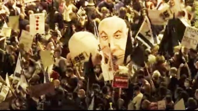 Ribuan Orang Unjuk Rasa di Luar Kediaman Netanyahu, Tuntut PM Israel itu Mengundurkan Diri