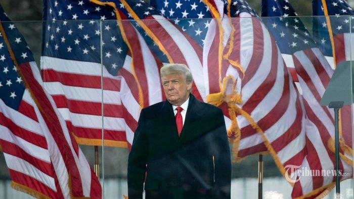 Pidato Perpisahan, Trump Kembali Kutuk Aksi Kerusuhan di Capitol Hill