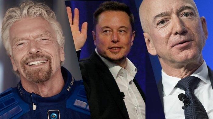Perlombaan Luar Angkasa Para Miliarder: Richard Branson, Jeff Bezos, dan Elon Musk