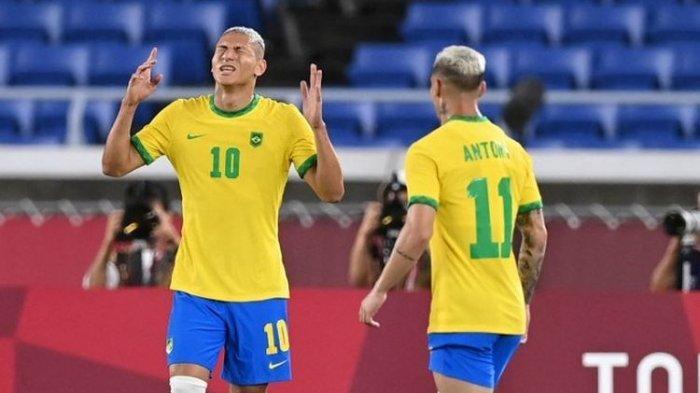 Richarlison Gemilang Bawa Brasil Menang 4-2 atas Jerman