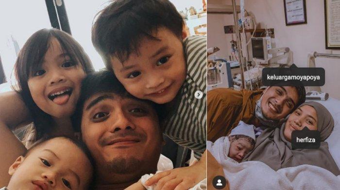Ricky Harun dikaruniai anak keempat, siapa nama cantik yang diberikan?