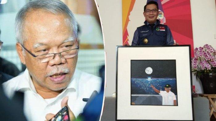 Ridwan Kamil Buat Lukisan Khusus untuk Menteri PUPR Basuki Hadimuljono, Ungkap Alasan & Kisahnya