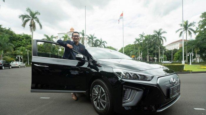 Ioniq dan Kona Electric Jadi Kendaraan Operasional Pemprov Jabar
