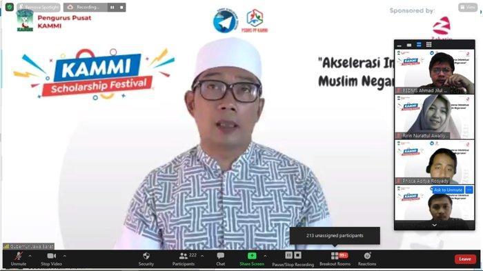 Gubernur Jawa Barat Ridwan Kamil dan Kesatuan Aksi Mahasiswa Muslim Indonesia (KAMMI) saling sepakat bahwa Kejayaan Indonesia tahun 2045 seiring bonus demografi dan 100 tahun Indonesia merdeka perlu disiapkan mulai hari ini.