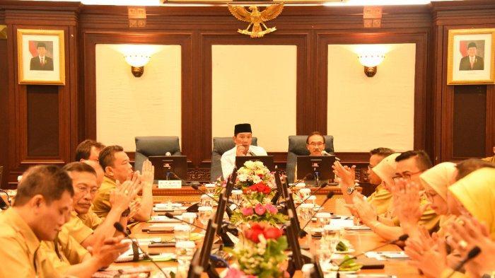 Gubernur Jabar Pimpin Rapat untuk Evaluasi Penyelenggaraan Pemerintahan