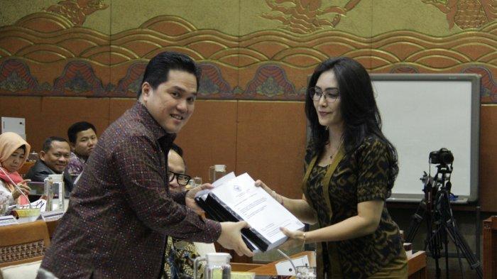 Rieke Diah Pitaloka Dukung Erick Tohir Selamatkan Pelindo II