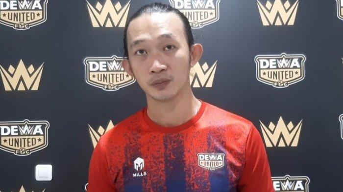 Rifky Mokodompit, kiper baru Dewa United FC