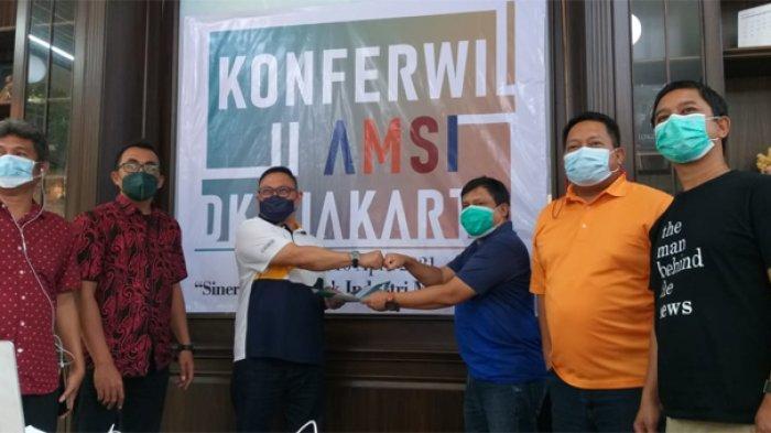 Rikando Somba - Yulis Sulistyawan Kembali Pimpin AMSI DKI Jakarta