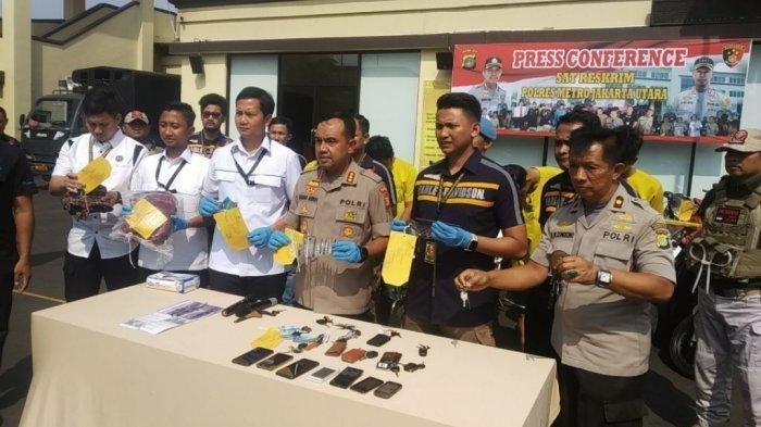 Komplotan Pencuri Mobil dan Motor di Jakarta Utara Ini Incar Kendaraan yang Diparkir di Gang