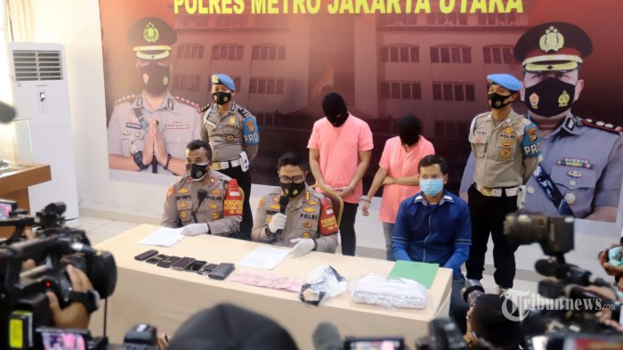 Polisi Benarkan Rekaman CCTV Penggerebekan ST dan MA yang Beredar di Media Sosial