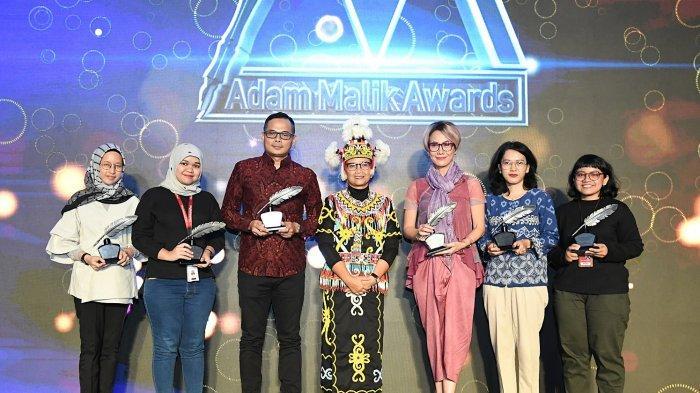 Wartawan Tribunnews.com Menangkan Adam Malik Awards Kategori Jurnalis Online Terbaik