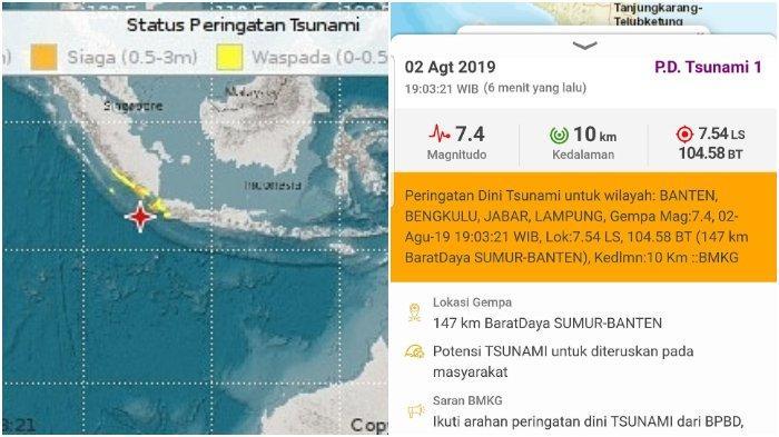 Sunda Megathrust dalam Keadaan Kritis dan Bakal Picu Gempa 9 SR? Para Ahli: Itu Hoaks