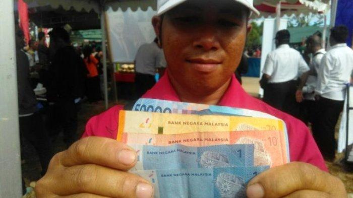 Cerita Warga Perbatasan Pilih Gunakan Ringgit dan Belanja Sembako Malaysia