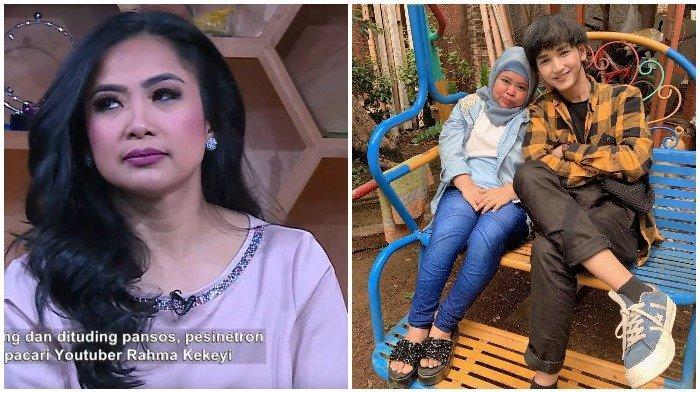 Rio Ramadhan Bantah Pacari Kekeyi Hanya untuk Pansos, Ekspresi Feni Rose Jadi Sorotan