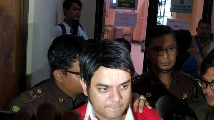 Rio Reifan jalani sidang vonis terkait kasus narkoba di PN Bekasi, Senin (10/2/2020).