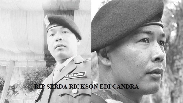 Serda Rickson Edi Candra Gugur di Papua, Rekan Sempat Ingatkan Waspada di Postingan Sosmednya