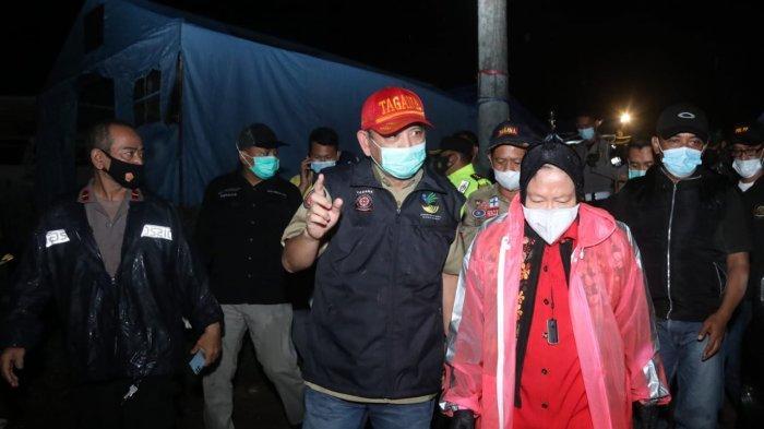 Sumedang Diguyur Hujan Lebat, Risma Minta Pindahkan Warga ke Lokasi Aman Longsor