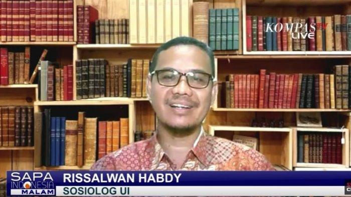 Sosiolog Universitas Indonesia, Rissalwan Habdy.