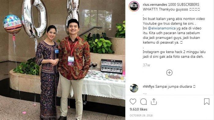 Youtuber yang Dilaporkan ke Polisi Disebut-sebut Bekerja di Maskapai Asing