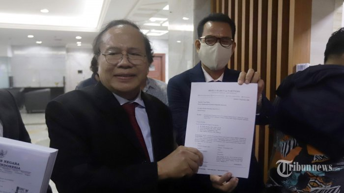 MK Tolak Gugatan Rizal Ramli Soal Ambang Batas Pencalonan Presiden