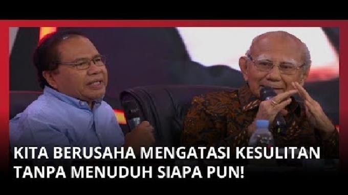 Reaksi Emil Salim Saat Rizal Ramli Sebut Kinerja Pemerintah Pas-pasan, Lihat Ekspresi Erick Thohir!