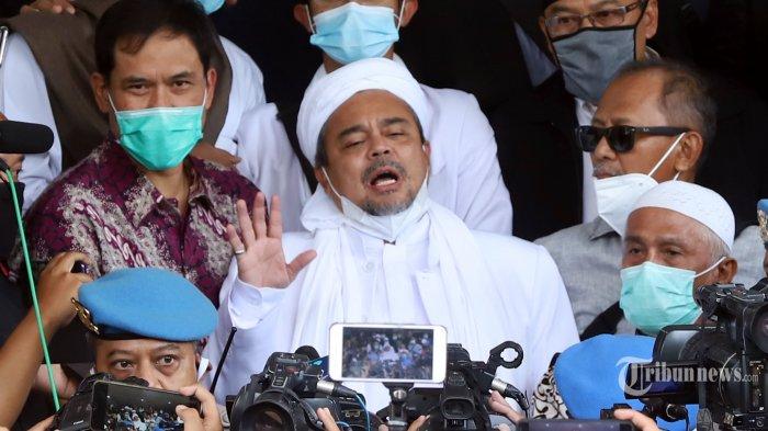DAFTAR 3 Vonis Rizieq Shihab: Denda Rp 20 Juta hingga 4 Tahun Penjara