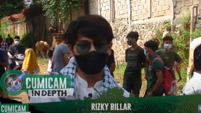 Rizky Billar dalam tayangan YouTube Cumicumi