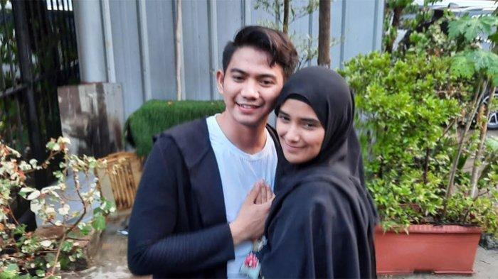 Rizki DA dan Nadya Mustika Rahayu saat ditemui di kawasan Jl. Mampang Prapatan Jakarta Selatan, Selasa (21/7/2020).