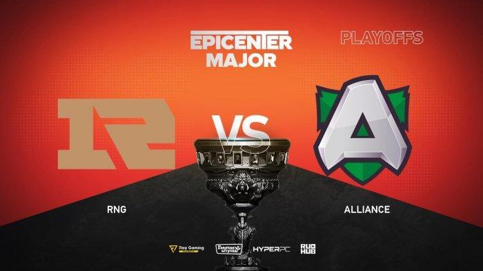 Live Streaming RNG VS Alliance EPICENTER Major, Peluang Loda Melaju ke Babak Selanjutnya