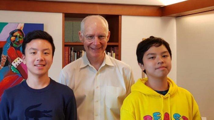 Sonia, Ramses, dan Rainier Wawancara Ekslusif dengan Profesor Harvard, Siap Tularkan Energi Positif