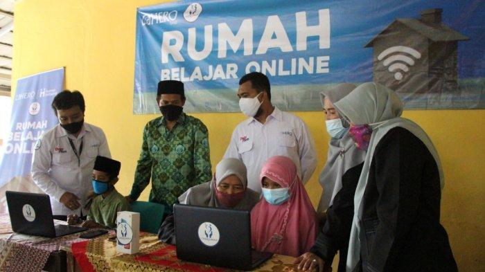 Program Rumah Belajar Online untuk Pelajar di Tangerang Selatan