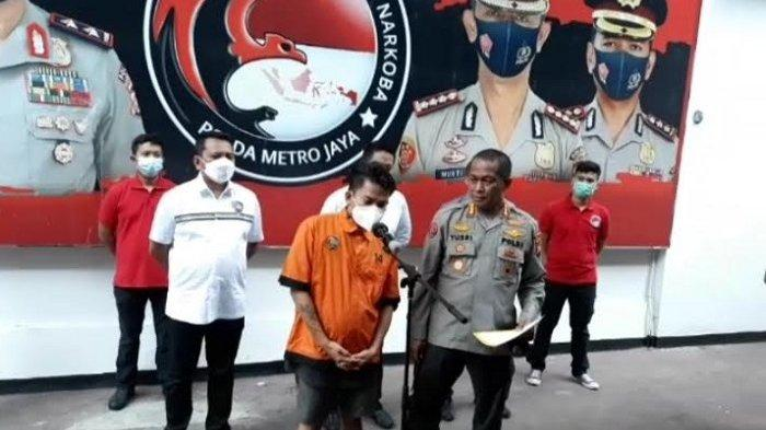 Robby Abbas saat ditemui di Polda Metro Jaya, Jumat Siang Pukul 14.00 WIB, (5/3/2021).