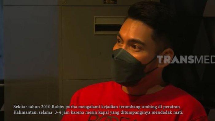 Robby Purba ceritakan pengalaman hidupnya yang mencekam