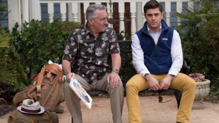 Robert De Niro dan Zac Efron dalam Dirty Grandpa (2016)