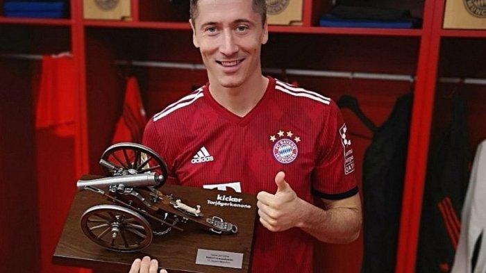 Robert Lewandowski catatkan namanya dalam pencetak gol terbanyak Liga Champions