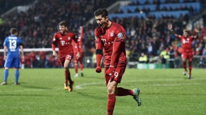 Tandukan Lewandowski Perkecil Ketinggalan Bayern Muenchen 1-2 dari Juventus