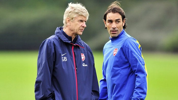Robert Pires dan Arsene Wenger