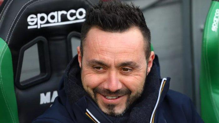 Roberto De Zerbi, pelatih Sassuolo