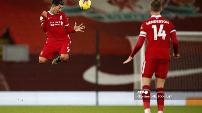 Hasil Liverpool vs Tottenham, Gol Telat Firminho Bawa The Reds ke Puncak Klasemen Liga Inggris