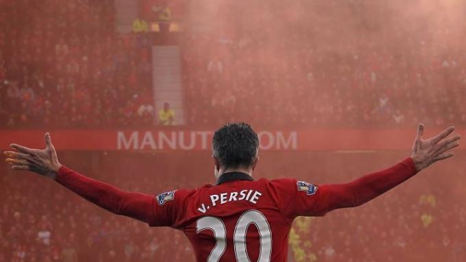 Robin Van Persie Bersama Manchester United