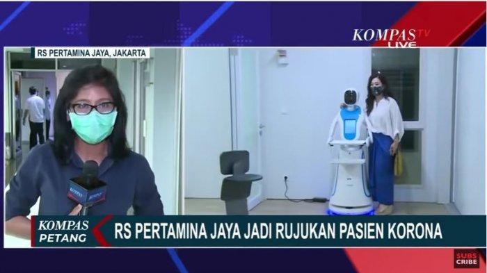 Robot Amy di RS Pertamina Jaya