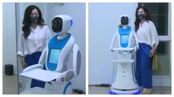 Menristek Nilai Keberadaan Robot RAISA Bantu Kurangi Kebutuhan APD di Indonesia