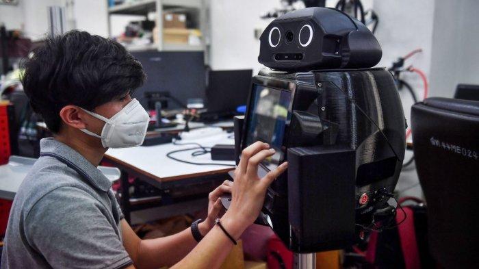 Thailand Punya 'Robot Ninja' yang Bisa Pantau Pasien Corona