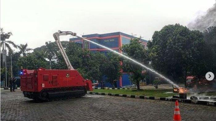 Penampakan Robot Pemadam Kebakaran yang Akan Dibeli Pemprov DKI, Harganya Rp 37,4 Miliar