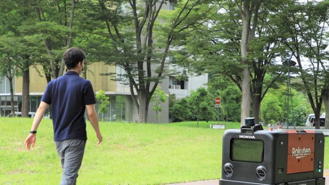 Honda dan Rakuten Mulai Uji Coba Robot Pengiriman Otomatis
