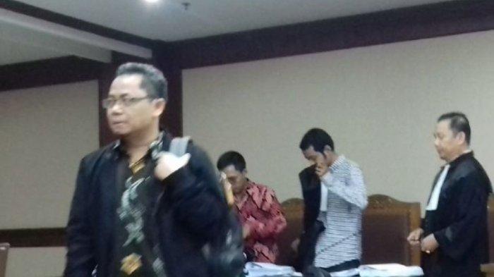 Auditor BPK, Rochmadi Saptogiri dan Ali Sadli Jalani Sidang Vonis di Pengadilan Tipikor Jakarta