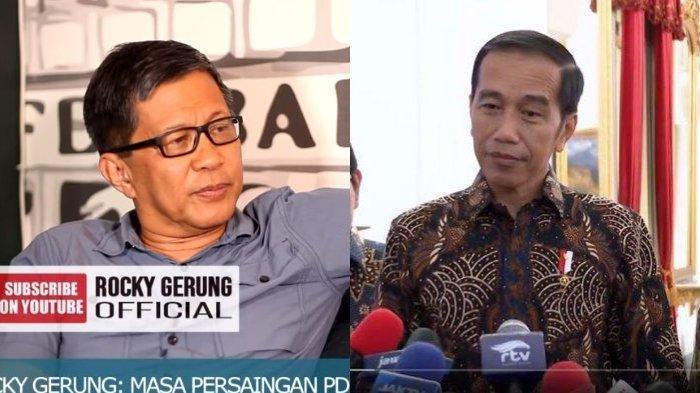 Bahas Pilpres 2024, Rocky Gerung Ungkap Upaya Jokowi agar Tak Dilengserkan, Ini Penjelasannya